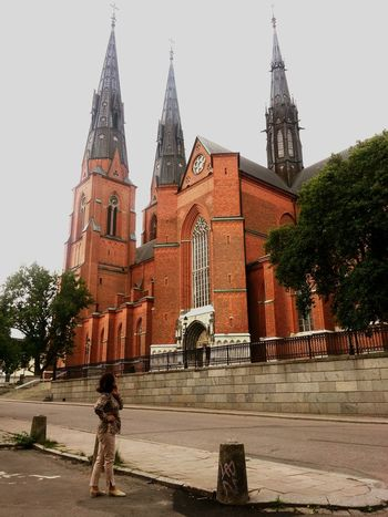 Cathedral, Sweden. Cathedral Europe European  Sweden Uppsala Domkyrka Samsungphotography