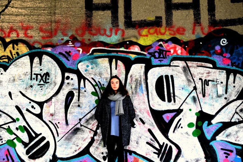 Colorfull Inspired Exposure Eye For Photography Ghent Gent Belgium Picmonkey Nikon Beginnerphotographer Graffiti Nikon D3300 Nikon Photography Portret People Photography People Beautiful Girl Photography Looking At Camera