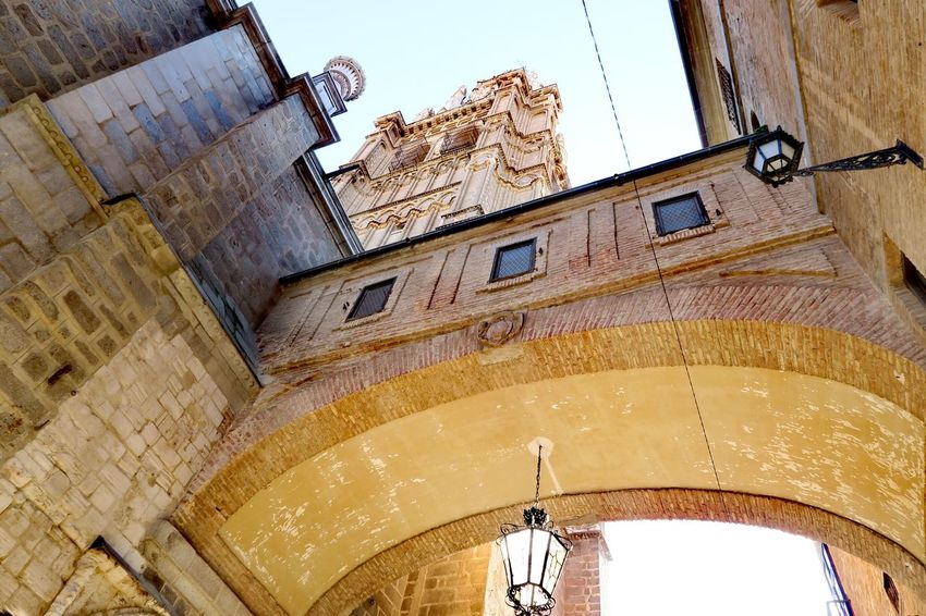 Architecture Building Exterior Low Angle View Built Structure No People Day Outdoors City Sky Close-up Church Tower Toledo Spain