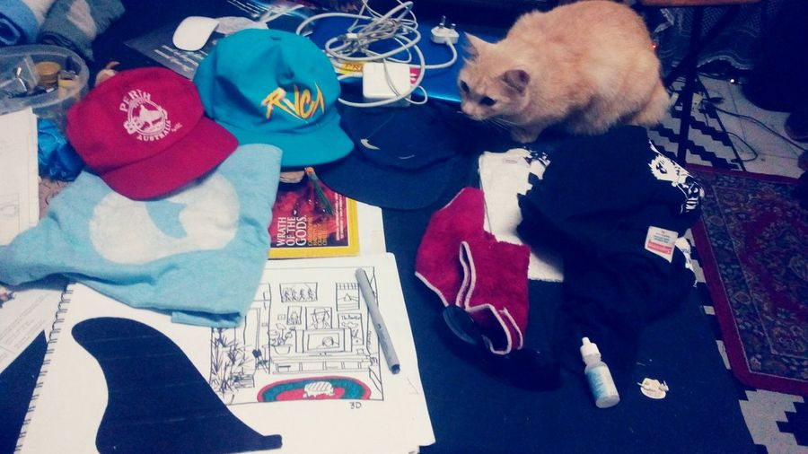 Desks From Above Workingtable WE3d Surf Season  Comingsoon D.I.Y Concept Tshirt Singlefin Subangjaya Adagaya