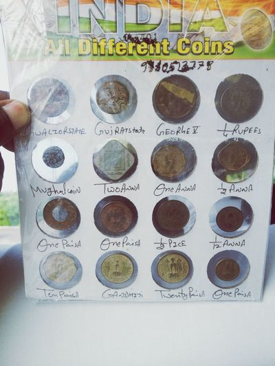 History coins