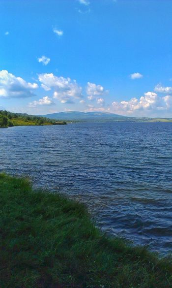 Tranquil Scene Water Tranquility Blue Sky Beauty In Nature Idyllic Non-urban Scene Nature Cloud - Sky Cloud Calm Day Outdoors No People Lake Eyeem Galery Eyeemphotography County Life Real Life Extraordinary Nature Life's Simple Pleasures... Landscape