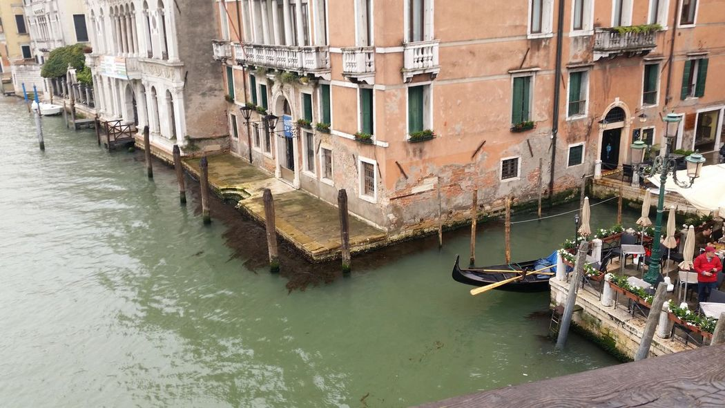Architecture Building Exterior Canal Day Gondola - Traditional Boat Nautical Vessel No People Outdoors Transportation Travel Destinations Water