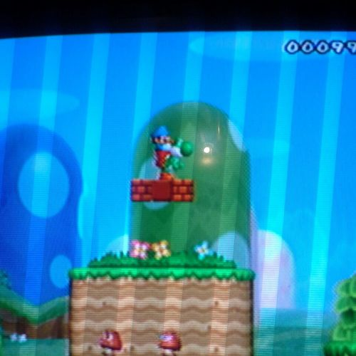 was playing #Mario