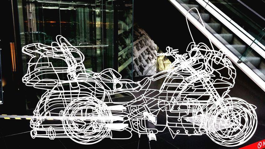 Art ArtInMyLife Art Installation London Motorcycle Broad Street Tower 42