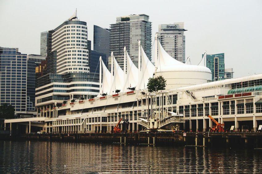 Canada Place Cruise Ship terminal