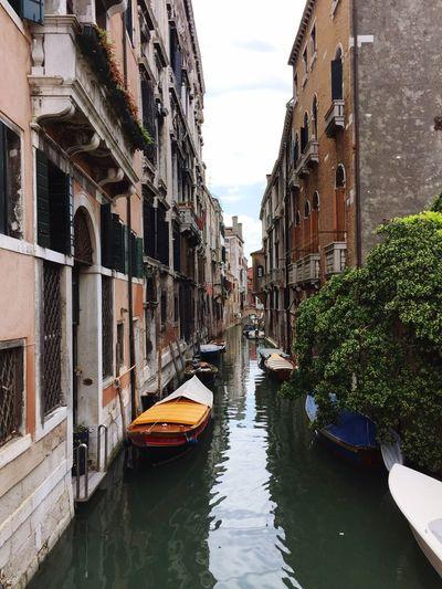 Venezia Venedig Venezia Canals Alone Cityscapes