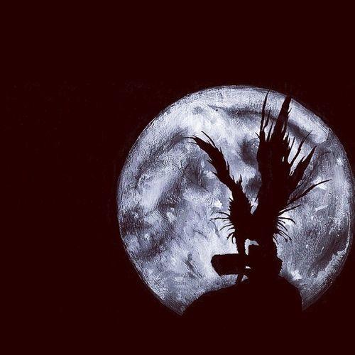 Shimigami Ryuk DeathNote Anime moon