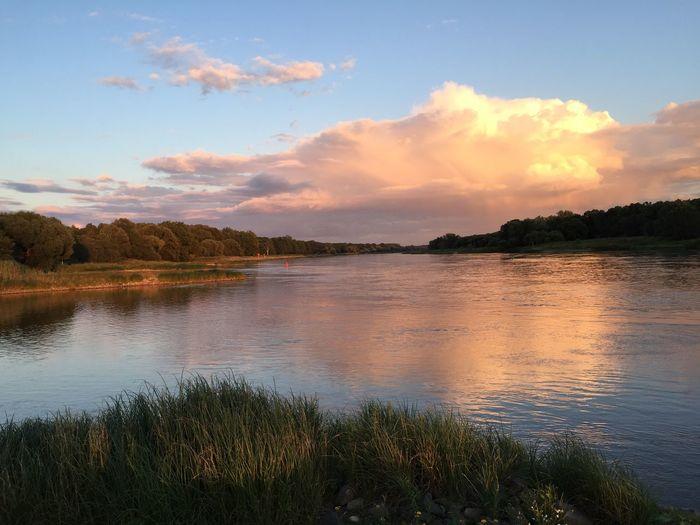Elbe River Sunset First Eyeem Photo