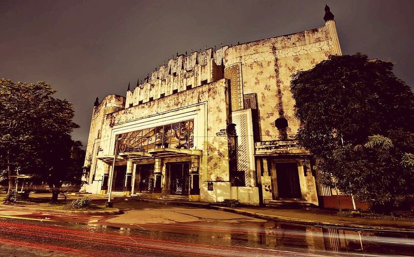 Metropolitan Theater History Architecture Travel Destinations Ancient Old Ruin Built Structure Monument Night Outdoors Building Exterior EyeEmNewHere
