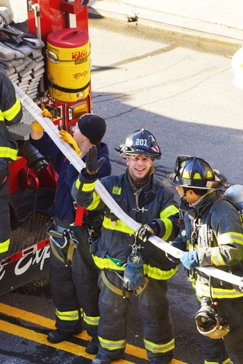 Enjoying Life Say Hello Bravery Fire Fighters
