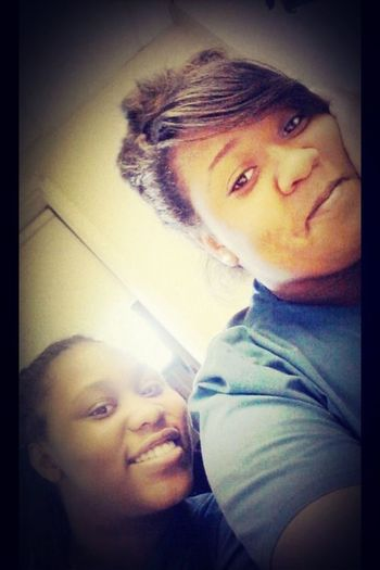 Me and my bestfriend shaniqua aka (myy kunta) this girl is always there for me thru whatever and I mean whatever. I'm glad to say we been bestfriends for 2years now and I wouldn't trade her for anything love you mii Kunta <3 #bestfriends #2years #loveher
