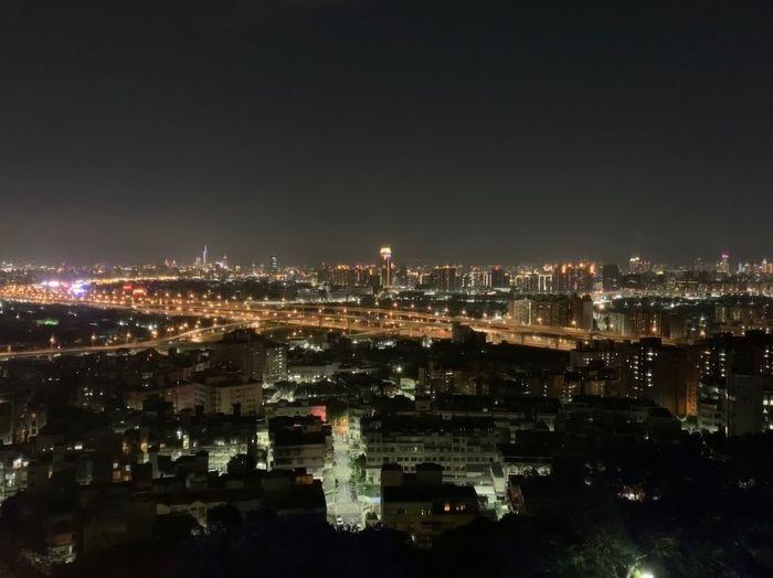 台北夜景 水錐 City