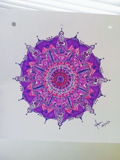 Mandala Mandala Of The Day Mandala Painting Mandala Passion Zentangle Zentangleart Patterns Relaxing Draw Drawing ✏ Peaceful Moment Colorful Colors Taking Photos
