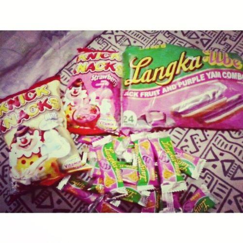 Im a certified Sweettooth ! Thanks bachoyyy otepcate :) <3 KayaAkoNataba Sweetsoverload LangkaUbe KnickKnocks Sweets Spoiled TeamTaba