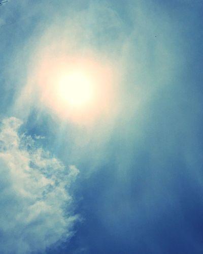 Sun Sunlight Haze Cloudscape