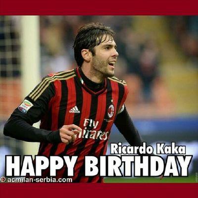 Happy birthday co-captain @kaka Forzamilan