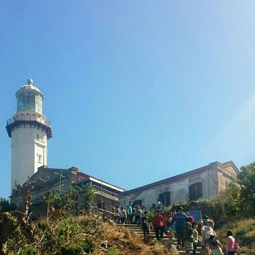 lighthouse under construction || Outdoors Travels Pilipinas History