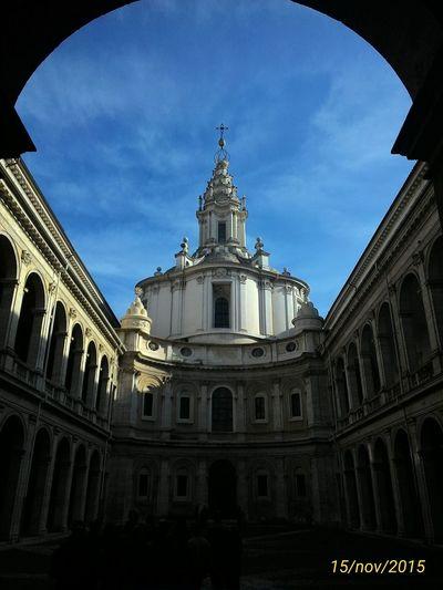 S.Ivo Alla Sapienza Rome Italy Churches Churchesofrome