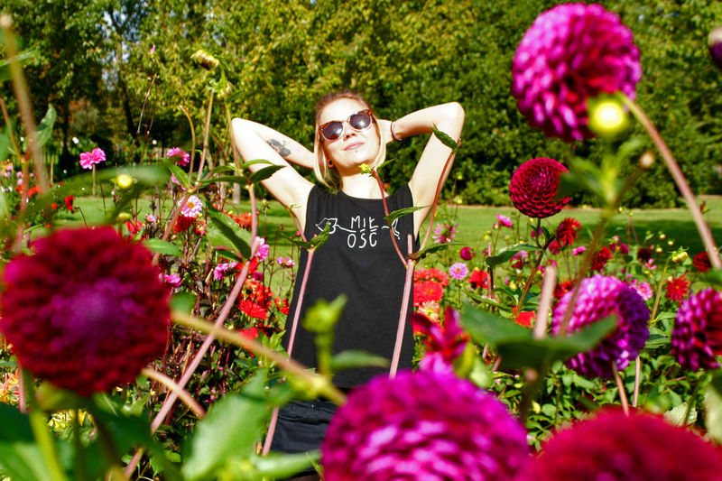 My Love Celebration Colorful Day Exploring Style Flower Happiness Lifestyles London Love Lovely Weather Miłość Nature One Person Outdoors People Portrait Rosegarden Spring Sunshine Fashion
