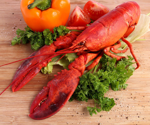 Cooked lobster Cooking Eating Food Foodphotography Lobsters SeafoodLover Seafoods