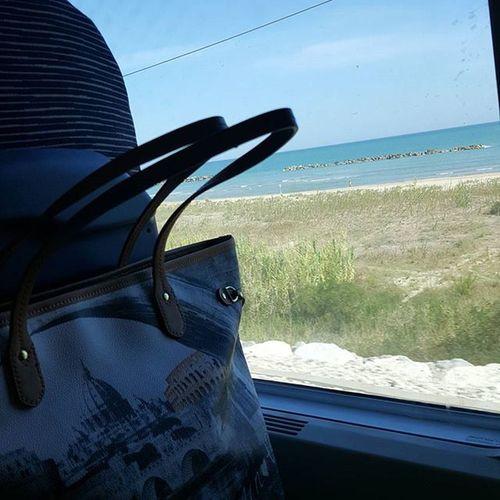 Traveling by train - Abruzzo Travelbytrain Travelingthroughitaly Traveling Italy Throughitaly Ynotbag Ynotborsa Ynot