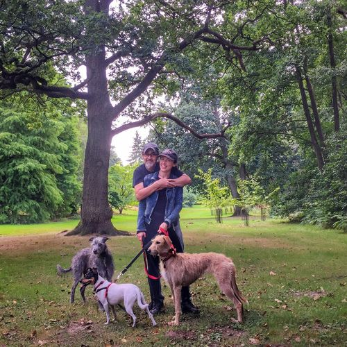 Lurcher Lola❤️ Dee I Love My Dog Sighthound Leo I Love My Dog ❤ Leo N Lola Animal Portrait Bushy Park LEO... The One Eyed Lurcher...