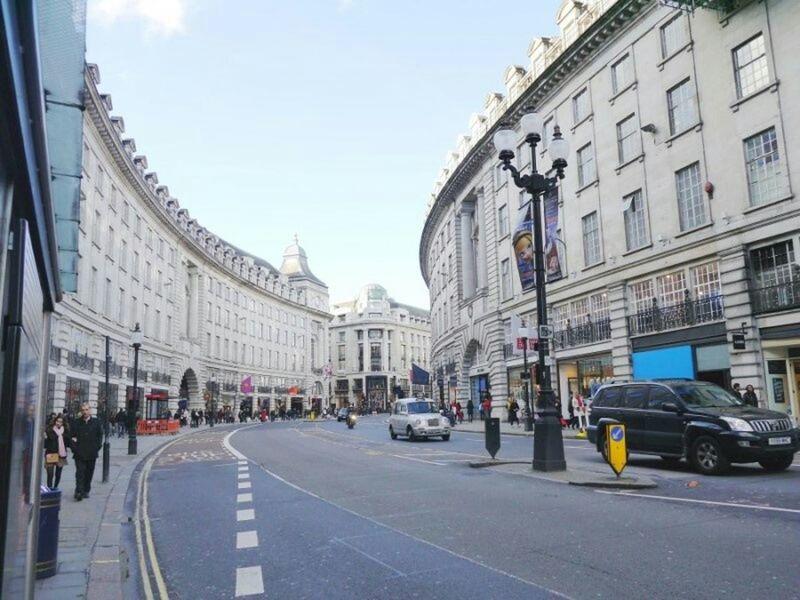 Simmetrical Building London London Streets