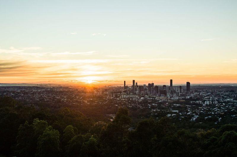 The sunrise