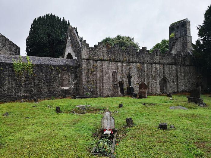 Dublin MalahideCastle Ruin Ireland History Agriculture Grass