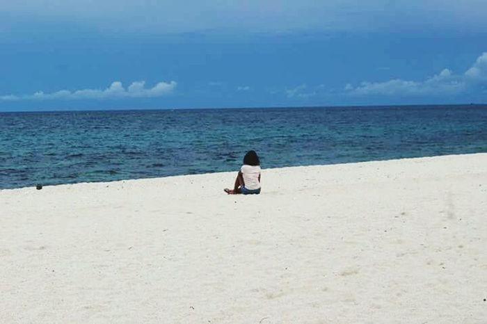 Beach Sand Sea Water Sky Vacations Getting Away From It All Nature Travel Destinations Outdoors Photooftheday Morefuninthephilippines Experiencephilippines Gigantesisland Beauty In Nature AngelsOpenBook Angelsjourney Angelventure Mermaidwanders Mermaid Life Happyfeets Breathing Space Go Higher
