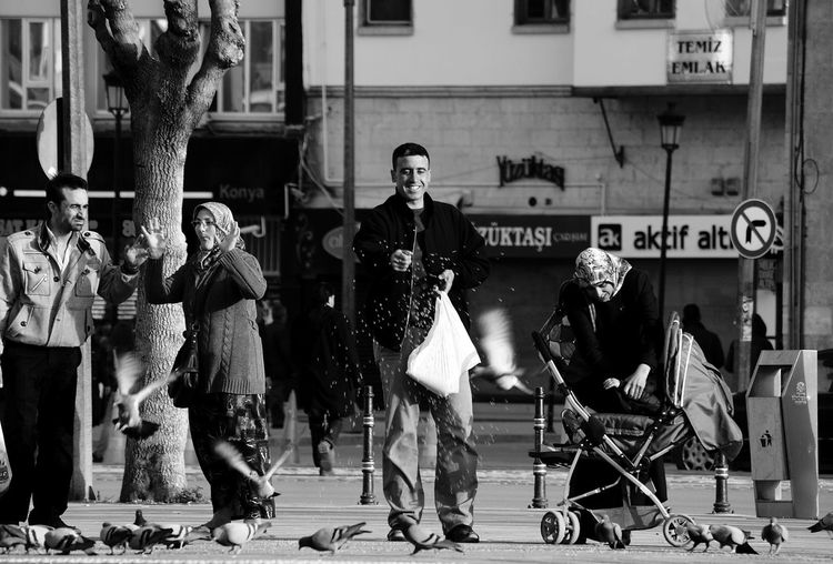 everyone has a unique happiness...Untold Stories Streetphotography Streetphoto_bw Blackandwhite Sony A330 EyeEm Best Shots - Black + White Capture The Moment B&w Photography Here Belongs To Me
