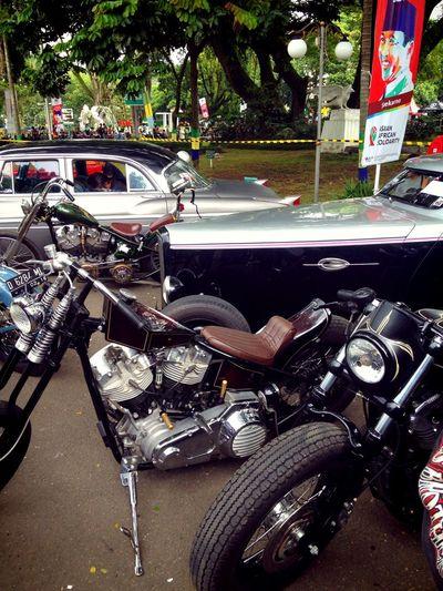 BBQride 2015 Classic Car Classic Bike Creative People Otomotive