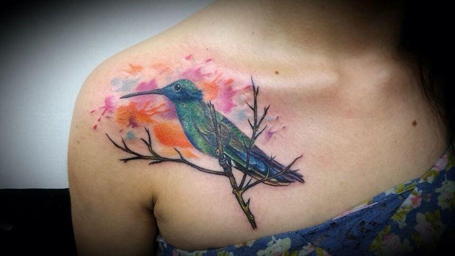 Huitzil People FollowMe On Twitter @travisrockmirez Working Ink My Life Is Tatto Girlswithtattoos