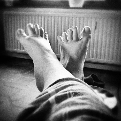Doigts de pieds en éventails Congé Repos  Holliday Orteils tagsforlikes