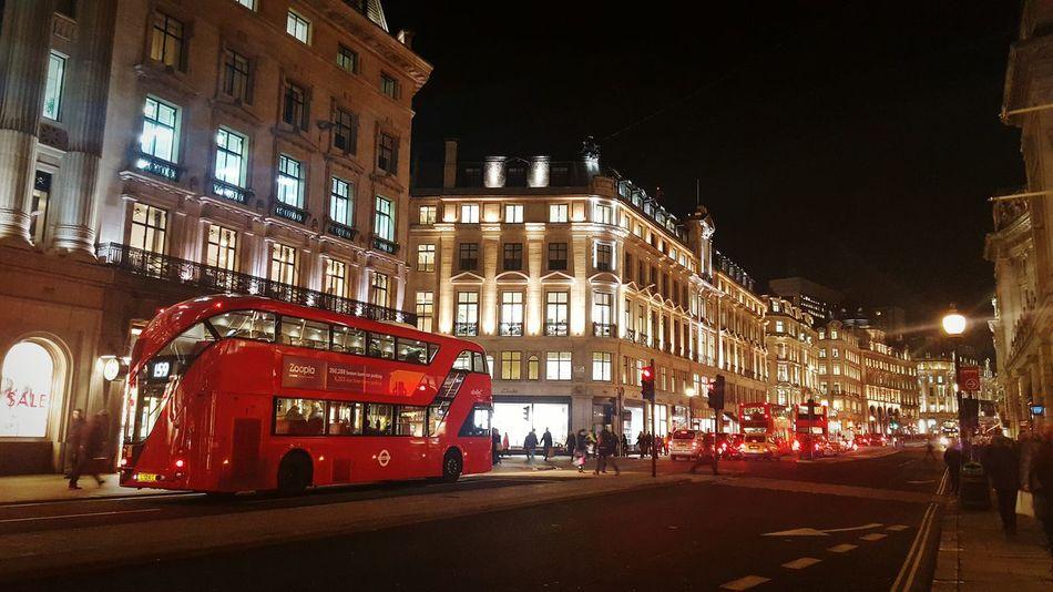 Cities At Night London Regent Street  Nightphotography Nightlife Night City Nightscape Nightshot Night London