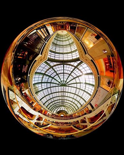 360 Photo Tiny Planet Samsung Gear 360 Imterior Design Interior Photography Malls Of The World Black Background Sphere Sky Light Natural Light The World Around Us