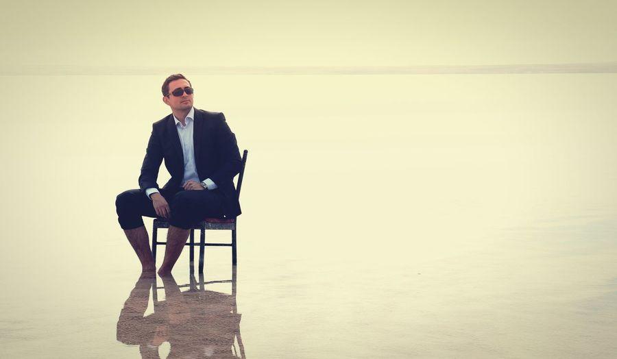 Open Edit Mypeople Model Shoot Suit Lake Water Reflections Light The Portraitist - 2016 EyeEm Awards