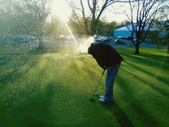 Sport In The City Golf Golfing Golfer Golfcourse Playing Golf Sports Photography