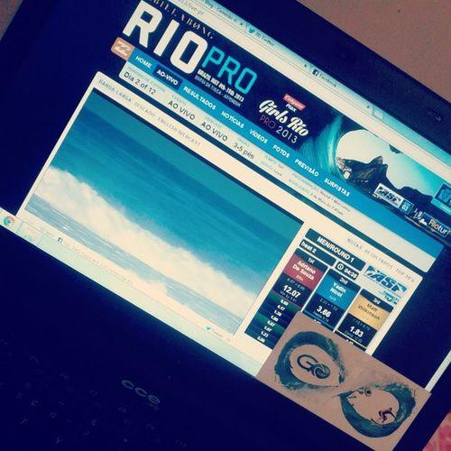 O jeito é acompanhar pela net! Billabongriopro Gosurfblog Wct