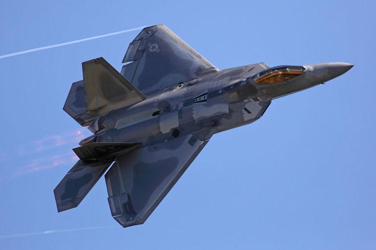 The USAF F-22