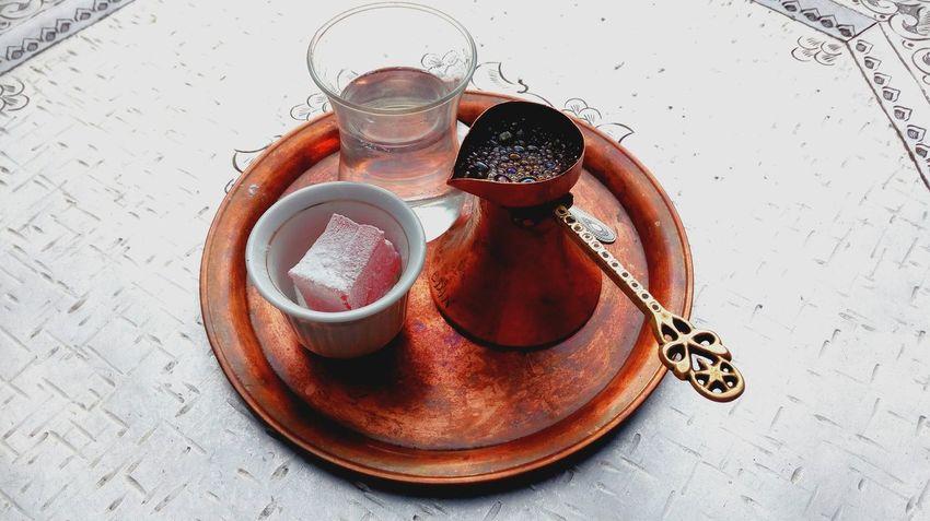 High Angle View Still Life Cup Metal Bosnian Beauty Bosnian Coffee Bosnianstyle Coffee Culture Coffe Time