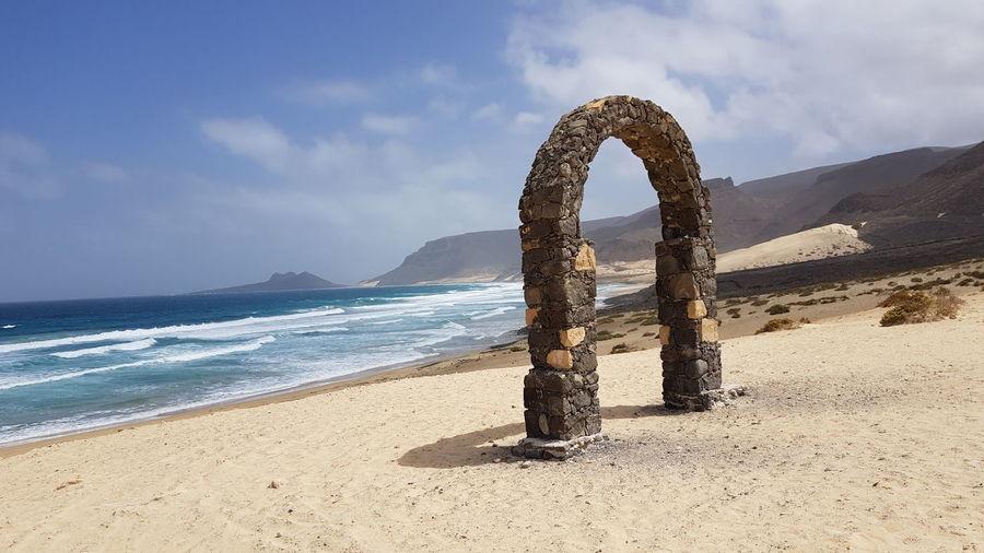 Capeverde Cabo Verde Saovicente Saovicente Vacation Holiday Travel #arcoconcierto Sea Beach Sand Water Sky Horizon Over Water Coast Coastline