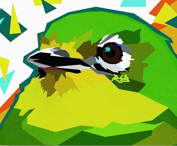 Bird Birds Zosterops White Eyes Pleci Colouring  Draw Wpap Art Artdaily Popart Design Gift Josterops Plecimaniaindonesia Plecimania Kicaumania Kicaumaniaindonesia By_riobhintoroo Photoshop Psd  Jpeg Image Edit Indonesian instagram ootd rsb