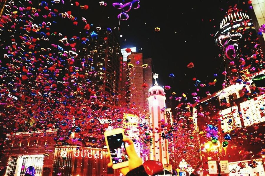 2015🎁🎉 I just found this photo in Internet, how I wish I were in Chungking at that time with Shelly! Frohes Neuesjahr Chongqing