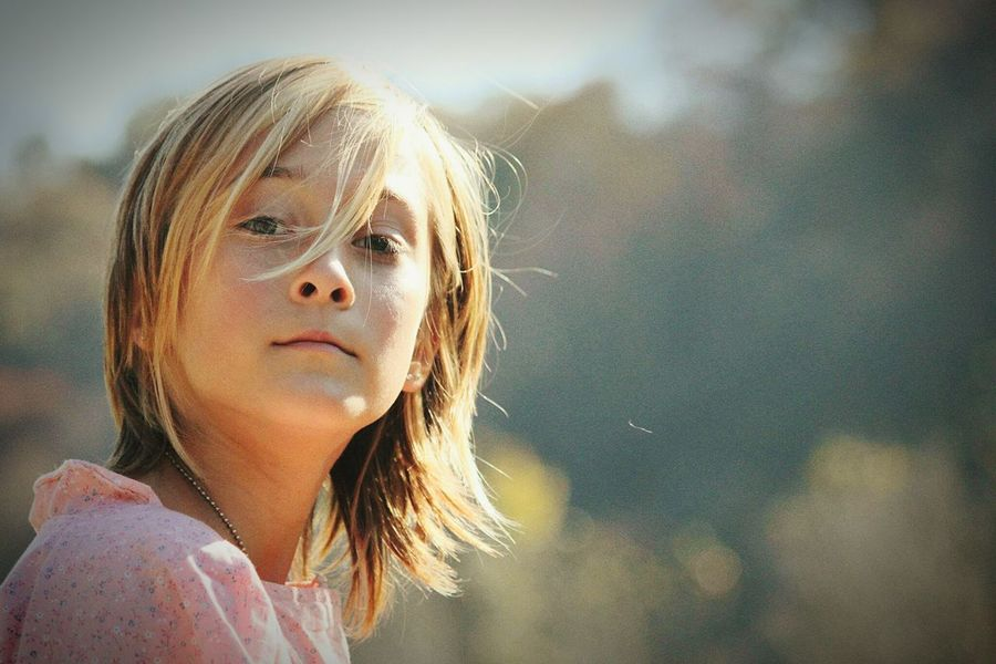 Portrait Of A Child Outdoors TLPhoto The Portaitist - 2016 Eyeem Awards Girl Blonde