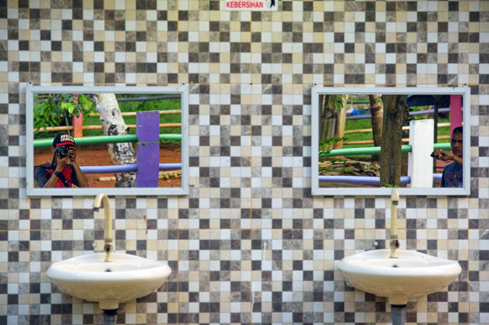Reflection Reflections Mirror Photography Taking Photos Taking Pictures Bathroom Hygiene Day Pattern Clean Cleaning Purity People EyeEm Diversity Multiple Patterns & Textures Abstract Perspective Art Is Everywhere TCPM The Street Photographer - 2017 EyeEm Awards Live For The Story