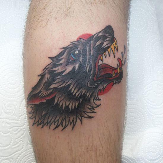 Wolf Tattoo Istanbul Turkey Tattooartist