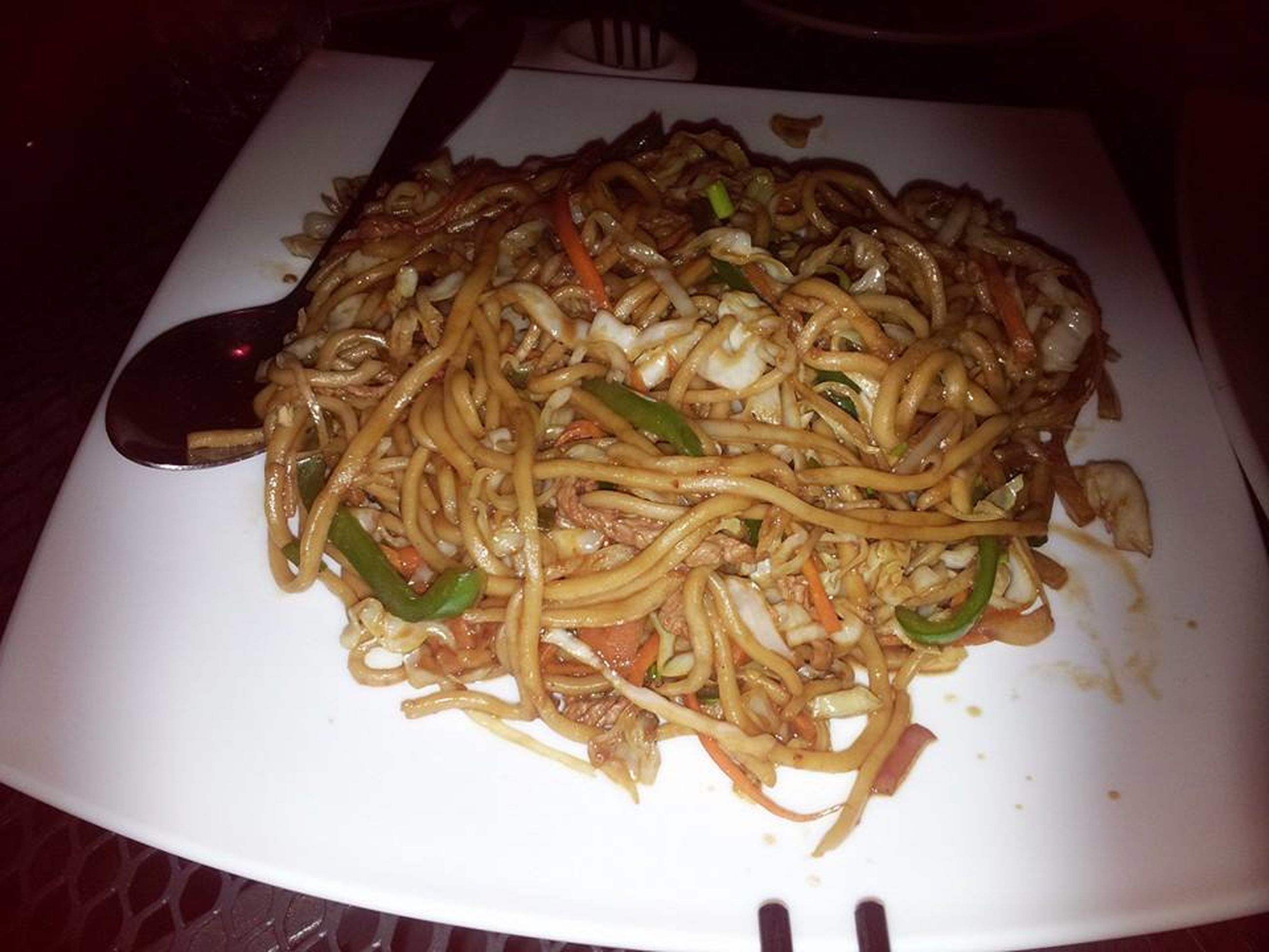 food and drink, food, ready-to-eat, indoors, close-up, noodles, indulgence, serving size, freshness, plate, meal, appetizer, cooked, noodle, spaghetti, temptation, culture, take out food, serving dish, vegetarian food