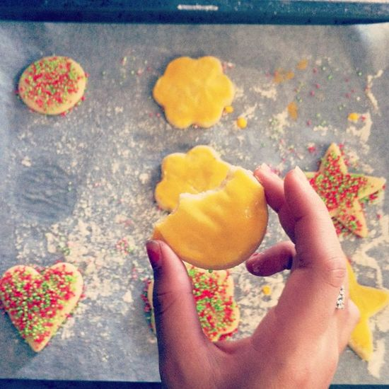 made by my 11 year old sister. SugarCookies Delicious Christmas Winter december 2012